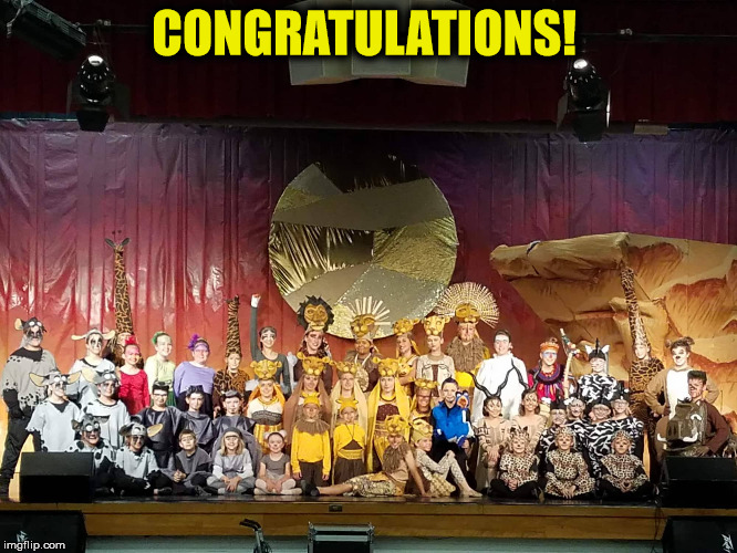 Congratulations To The Cast Crew Of Disney S The Lion King Jr Hard Road Theatre